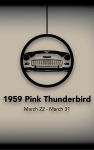 1959 Pink Thunderbird @ Electric City Playhouse | Anderson | South Carolina | United States